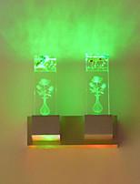 2 Led Integrado LED Inovador Característica for Estilo Mini,Luz Ambiente Luz de parede
