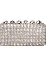 Damen Taschen Ganzjährig Glas Abendtasche mit Strass Glitter für Hochzeit Veranstaltung / Fest Formal Gold Schwarz Silber