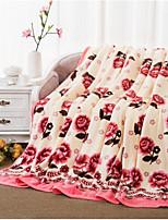 Super Soft Flower Polyester Blankets