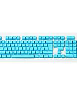 Top pbt keycap 106 teclas ajustadas para teclado mecânico translúcido oem altura