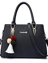 IMBETTUY Women's Fashion PU Leather Shoulder Messenger Crossbody Bag/Handbag Tote