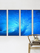 Four Panels Horizontal Print Wall Decor For Home Decoration
