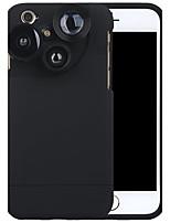 Câmera de telefone celular purecolor iphone6 / 6s 4,7 polegadas de grande angular 0,65x macro 180 olho de peixe com lente de shell de
