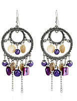 Women's Earrings Set Basic Tassel Geometric Vintage Rhinestone Alloy Jewelry For Birthday Gift Evening Party Club Street