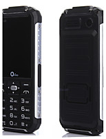 Oeina XP6000 Power Bank Phone Quad Band Unlocked Phone 2.4 inch SC6531 Dustproof Shockproof Bluetooth Flash Light