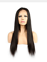 Glueless Lace Front Human Hair Wigs For Black Women Brazilian Remy Hair Straight Wigs Natural Hairline With Baby Hair