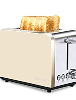Bread Makers Toaster Stainless Steel MultiFunctional Easy To Use Adjustable Power Modes Reservation Function 220V