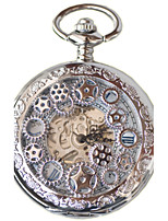 Муж. Карманные часы С автоподзаводом Защита от влаги сплав Группа Серебристый металл Золотистый Бронза