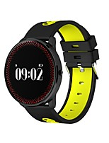 Smart BraceletLong Standby Calories Burned Pedometers Exercise Record Sports Heart Rate Monitor Touch Screen Distance Tracking