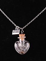 Жен. Ожерелья с подвесками В форме сердца Сплав Любовь Сердце Бижутерия Назначение Свадьба Для вечеринок День рождения Повседневные