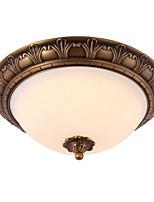 Традиционная классическая латунь 2 светильника для потолочного светильника