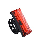 Rear Bike Light LED LED Cycling Outdoor Lighting Lights AAA Lumens USB Red Everyday Use Cycling/Bike Outdoor