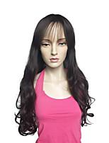 Peruca longa onda profunda peruca de fibra sintética penteado resistente ao calor para mulheres
