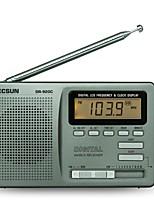 R-920 Radio portable Radio FM Enceinte interne Gris