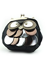 Women Evening Bag Silk Spring/Fall All Seasons Wedding Event/Party Casual Formal Outdoor Office & Career Owl Metal Chain Kiss Lock Black