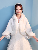 Women's Wrap Shrugs Faux Fur Wedding Party/ Evening