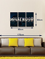 Canvas Prints HOLLYWOOD Logo Canvas Art for Wall  Decoration Ready to Hang