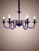 Чердак промышленный ветер старинные железные лампы кофейни ресторан люстры канатная люстра фары