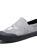 Для мужчин Мокасины и Свитер Удобная обувь Весна Осень Дерматин Повседневные Для вечеринки / ужина Животные принты На плоской подошве