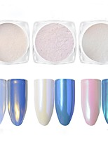 1PC  Nail Art Pearl Powder Diamond The Magic Mirror Powder  2g  Paragraph 3