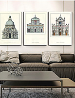 Canvas Print Three Panels Canvas Vertical Panoramic Print Wall Decor For Home Decoration