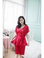 Pyjama Soie Rayonne Femme