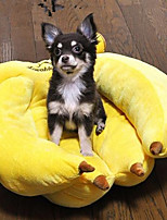 Dog Bed Pet Baskets Yellow