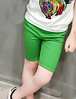 Boys' Solid Shorts-Cotton Polyester Summer