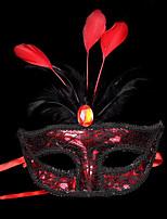1pc pequeña venda del pelo del sombrero para el partido del traje de víspera de Todos los Santos la plata plana del oro mascarada máscara