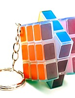 Rubik's Cube Smooth Speed Cube Transparent Sticker Adjustable spring LED Lighting Magic Cube ABS