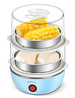 Egg Cooker Double Eggboilers Multifunction Light and Convenient Creative Mini Style Lightweight Detachable 2 in 1 220V
