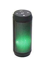 YPS-B53 Bluetooth 4.0 Haut-parleur portatif Blanc Noir Fuchsia