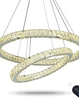 Dimmable Round Ring LED Ceiling Pendant Light LED Lighting Modern Chandeliers Indoor Home Lamp with Remote Control