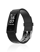 0.96 Inch Screen Smart Bracelet Water Proof Long Standby Calories Burned Pedometers Heart Rate Monitor for Ios Android Mobile Phone