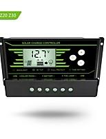Y-soalr pwm 10a controlador de carga solar 12v 24v auto con retroiluminación lcd pantalla dual usb 5v regulador solar cargador z10