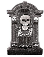 Halloween Decoration Props Bar Haunted House Horror Scene Layout Bubble Skull Simulation Tombstone