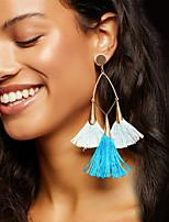 Women's Drop Earrings Hoop Earrings Earrings Set Basic Tassel Alloy Jewelry ForWedding Party Halloween Birthday Other Engagement Gift