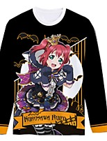 Ispirato da Ama vivi Cosplay Anime Costumi Cosplay Cosplay T-shirt Cartoni animati Manica lunga Top Per Unisex