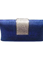 Damen Taschen Frühling Sommer PVC Abendtasche mit Kristall für Hochzeit Veranstaltung / Fest Gold Schwarz Marinenblau