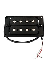 Cigar Box Humbucker 4 String Fiber Alnico 5 Magnets Guitar Pickup