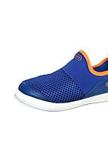 Garçon Chaussures d'Athlétisme Semelles Légères Tulle Printemps Automne Décontracté Course à Pied Talon Plat Noir Bleu Plat
