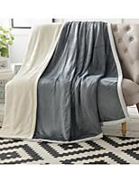 Super Soft Solid Cotton Blankets