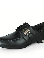 Men's Oxfords Driving Shoes Formal Shoes Comfort Spring Fall Real Leather Cowhide Nappa Leather Wedding Casual Outdoor Office & Career
