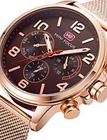 Муж. Спортивные часы Модные часы Наручные часы Уникальный творческий часы Повседневные часы Кварцевый Нержавеющая сталь ГруппаС