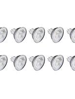 6W Spot LED MR11 1 COB 1 lm Blanc Chaud Blanc Froid 220 V 10 pièces GU10