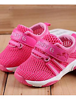 Girls' Flats Comfort First Walkers Summer Breathable Mesh Casual Purple Fuchsia Blushing Pink Royal Blue Flat