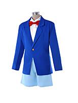Manteau Chemisier/Chemise Pantalon Costumes de Cosplay Plus d'accessoires Tenue Cosplay de Film Bleu Cache-col Manteau Chemise Pantalon