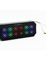LED Outdoor Portable Wireless Bluetooth Speaker Dual Stereo Speakers with Colorful Llights