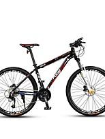 Vélo tout terrain Cyclisme 27 Vitesse 26 pouces/700CC Microshift 24 Frein à Double Disque Fourche de suspensionCadre en Alliage