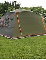 5 a 8 Personas Tienda Solo Carpa para camping Tienda de Campaña Plegable Impermeable Resistente al Viento Filtro Solar Protección Solar